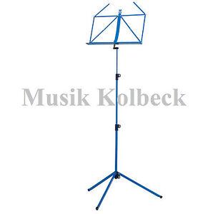K-amp-M-100-1-Notenpult-K-amp-M-10010-Farbe-blau-Notenstaender