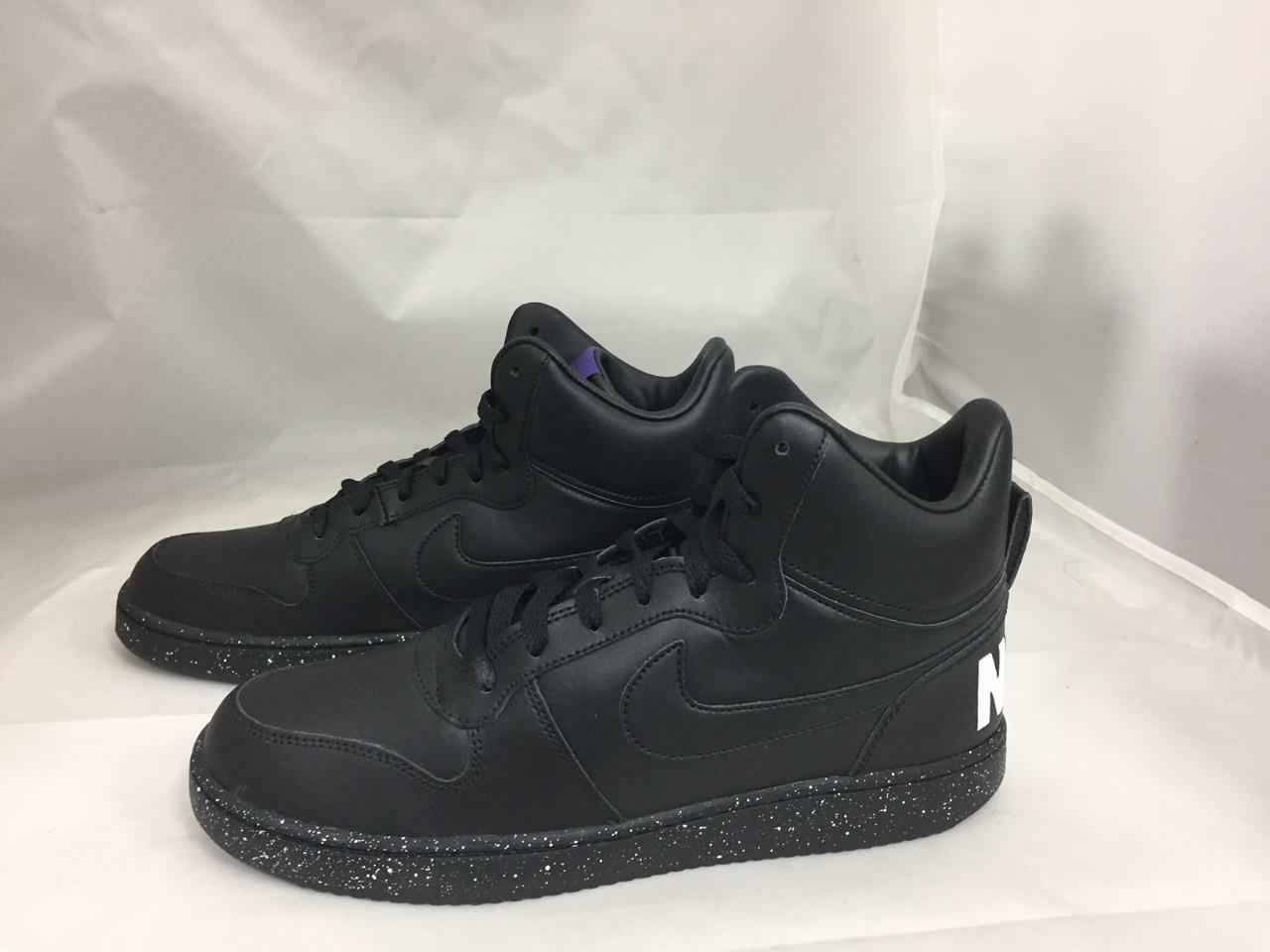Nuevo Hombre Para Hombre Nuevo Nike Court Borough a mediados de 916759-001 428b2c