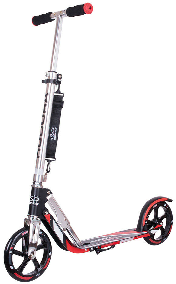 Modell 2018 Hudora Big Wheel RX 205 Racing Scooter Roller 14724/01