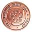 Scottish Masonic Freemasonry Keystone Thistle /& Mallet Token Penny