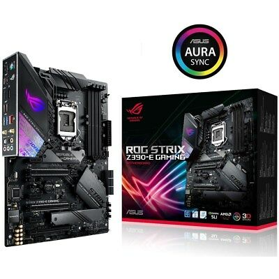 ASUS ROG Strix Z390-E Gaming  Sockel 1151-v2 Mainboard ATX (Mainboard)