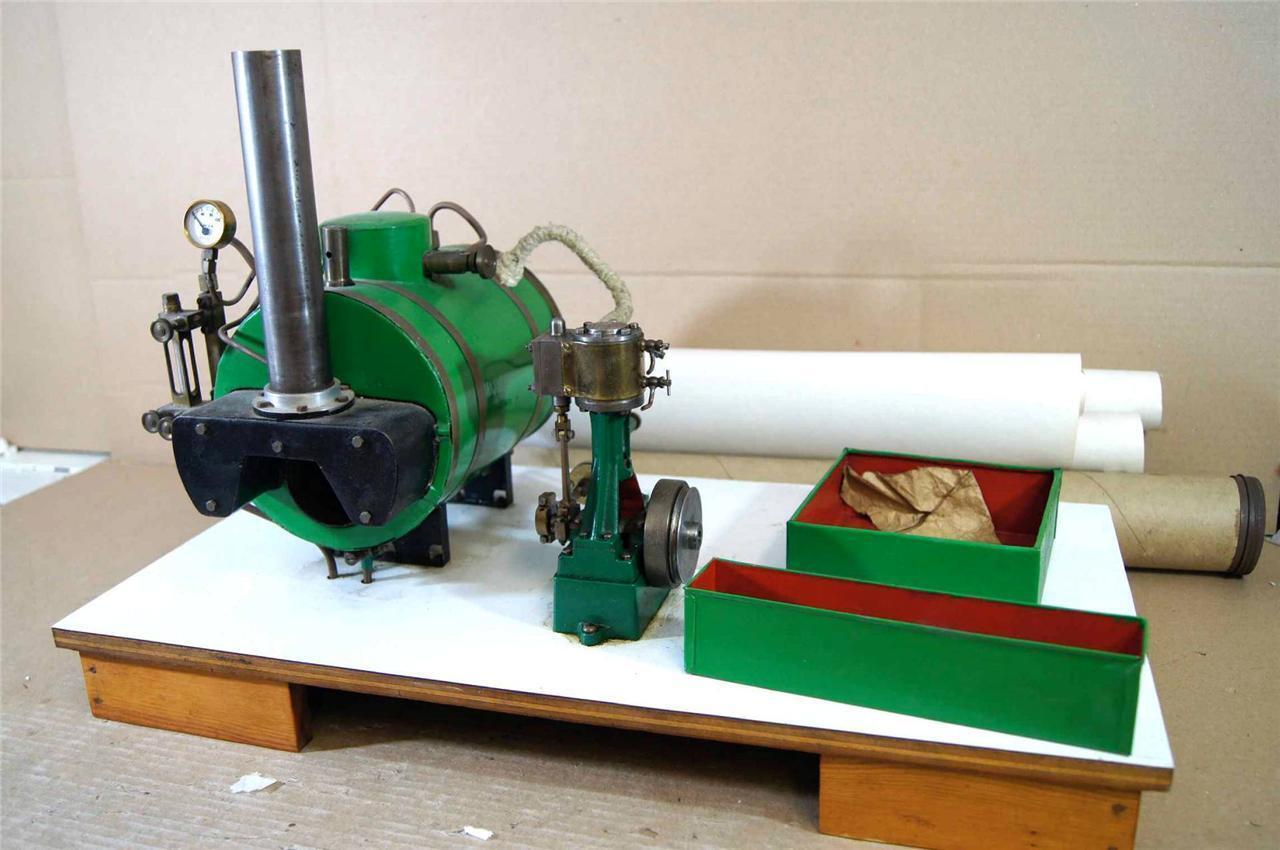 KIT KIT KIT BUILT LIVE STEAM LARGE MARINE SCOTCH BIOLER STUART TURNER greenICAL ENGINE na 0b9b55