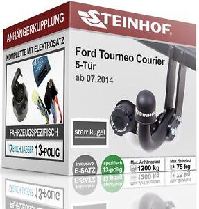 Anhängerkupplung abnehmbar Für Ford TRANSIT COURIER ab 2014 STEINHOF ABE