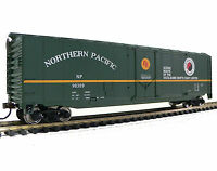 Free Shipping!* HO Scale Model Railroad Trains Northern Pacific Boxcar 931-1679