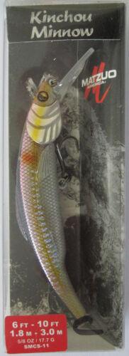 MATZUO  Kinchou Minnow Oil Spill Size 11-5//8 oz - Casting