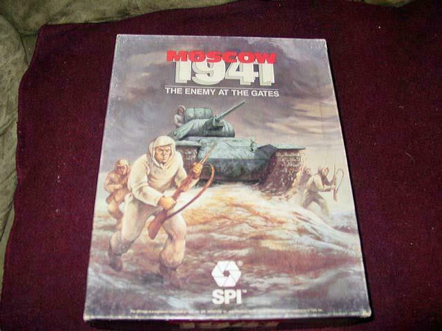 Vintage SPI 1987 - MOSCOW 1941 - The Enemy At The Gates (70% UNPUNCHED)