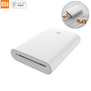 Xiaomi Pocket Photo Printer 300dpi Portable Mini AR Picture Printer