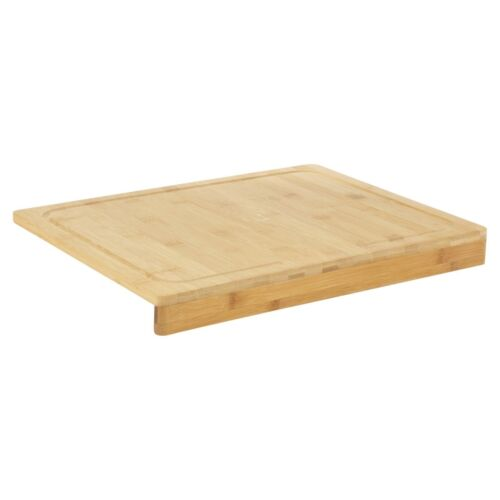 Counter Edge Bamboo Chopping Board Secure Wooden Kitchen Cutting Food Eco Friend