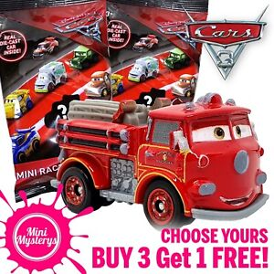 Disney Pixar Cars 3 Mini Racers Choose Yours Diecast Mini