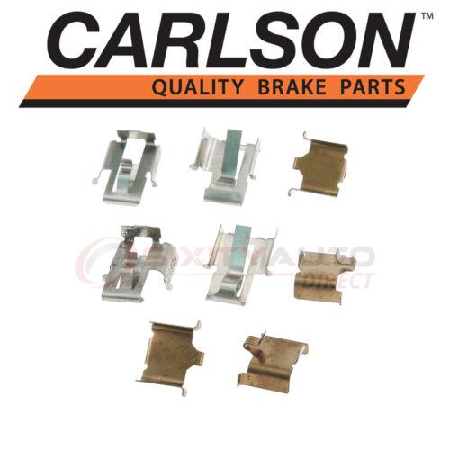 Pad qc Carlson Front Disc Brake Hardware Kit for 1986-1987 Mazda B2000