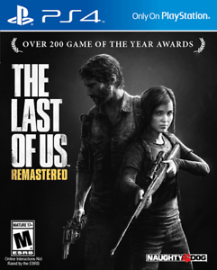 The Last of Us Remastered PS4 PlayStation 4 New Game