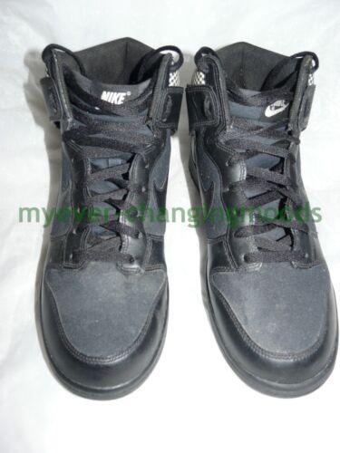 Nike Trim Trainers Deadstock Basket 024 High Black Rare Check 10 407920 Dunk pqrUpxwF1