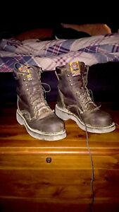 Justin Work Boots 10\