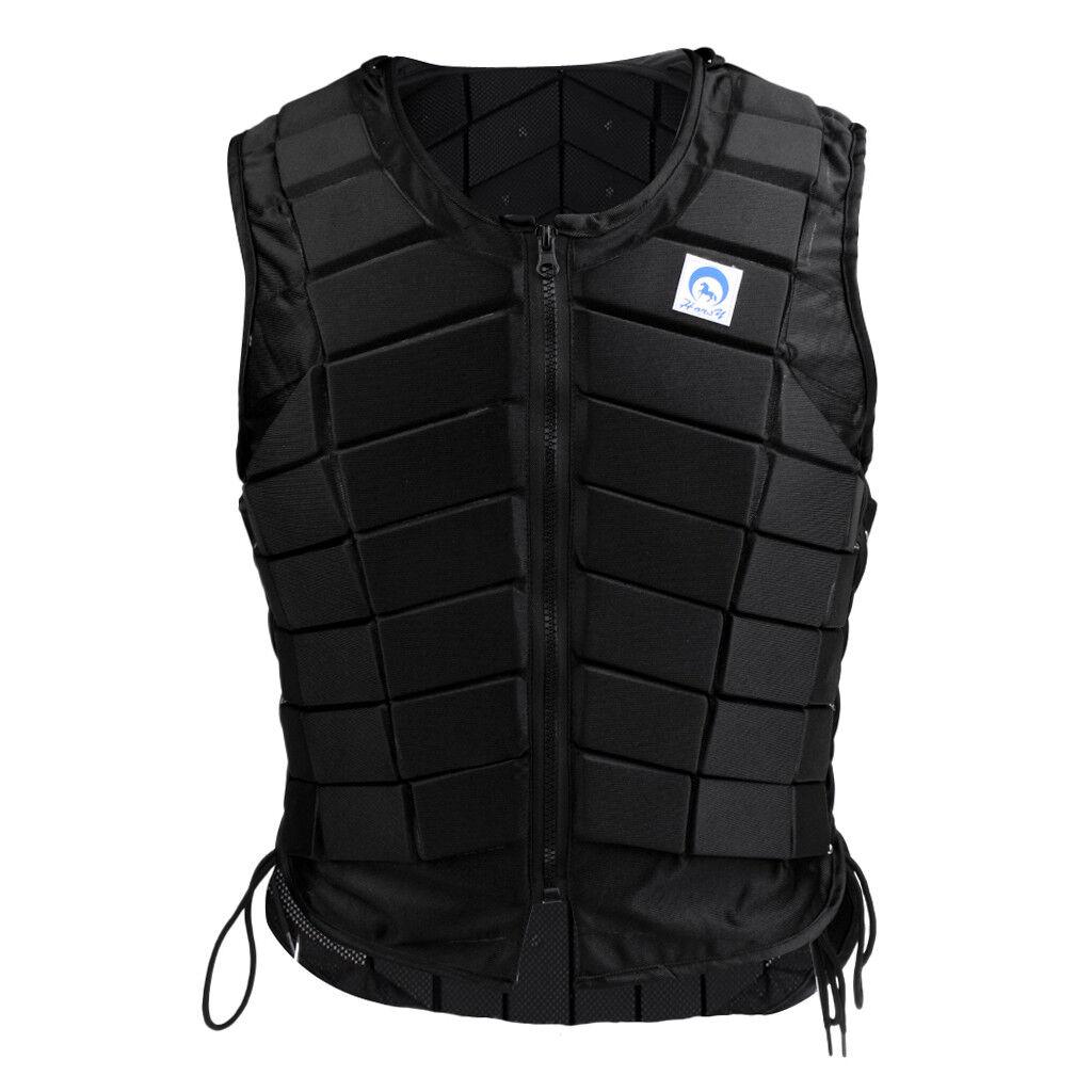 Frauen Safe Equestrian Vest Body Protector EVA Padded Lightweißht Weste M