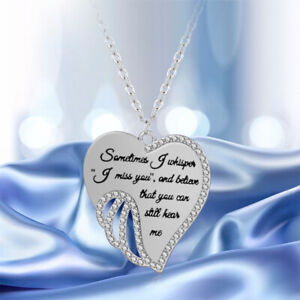 Mode-Elegantegelsfluegel-Herzform-Anhaenger-Halskette-Schmuck-Geschenke-Re