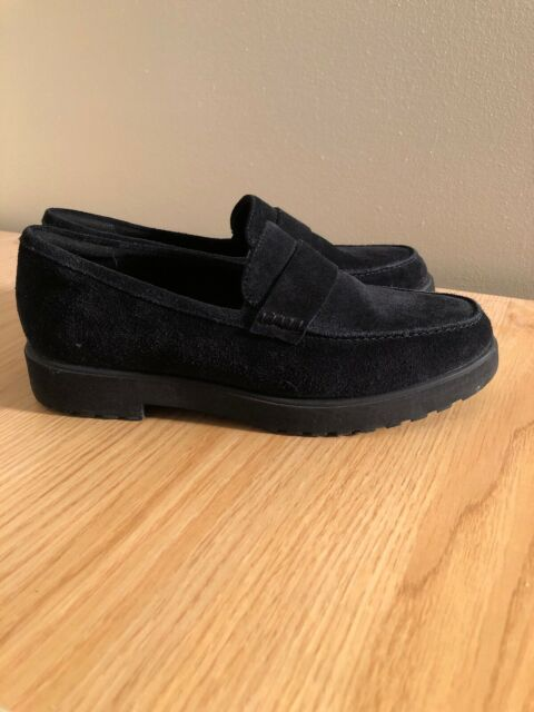 New Womens Canvas Lightweight Faux Suede Slip On Casual Boat Shoes Loafers