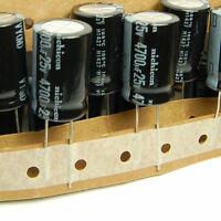 (2pcs) 4700uf 25v Electrolytic Capacitor 25v4700uf Nichicon Vy Low Esr