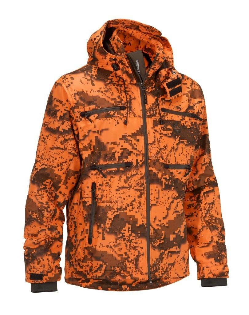 Swedteam caza chaqueta Ridge pro m-desolve Fire-señal  chaqueta-membrana  mejor vendido