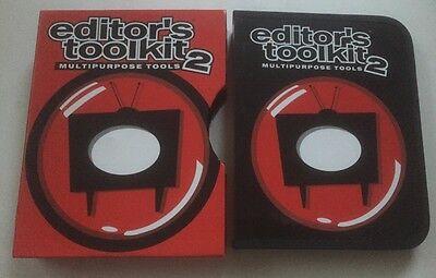 Video Production & Editing Cameras & Photo 7 Discs Set Limpid In Sight Punctual Digital Juice Editor's Toolkit 2 Multipurpose Tools 2