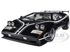 LAMBORGHINI COUNTACH LP500R BLACK 1/12 DIECAST CAR MODEL BY KYOSHO 08616