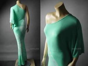 Sale-Tie-Dye-One-Shoulder-Goddess-Boho-Caftan-Kimono-Long-Maxi-84-mv-Dress-S-M-L