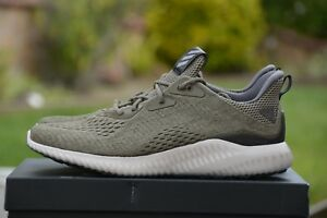 7ce12ef35 Adidas AlphaBounce EM Men s Running Shoes BW1203 Trace Olive Size ...