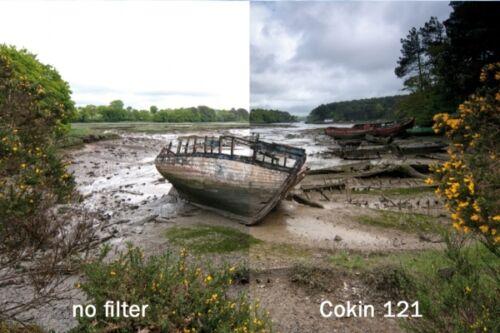 p121, p121m, p121l 3 filtro nd2 nd4 nd8 Cokin h300-02 gradual ND kit incl