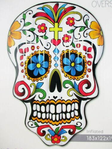 Antenne Australia Day of the Dead Sugar Skull Gonflable Grand matelas plage £ 60