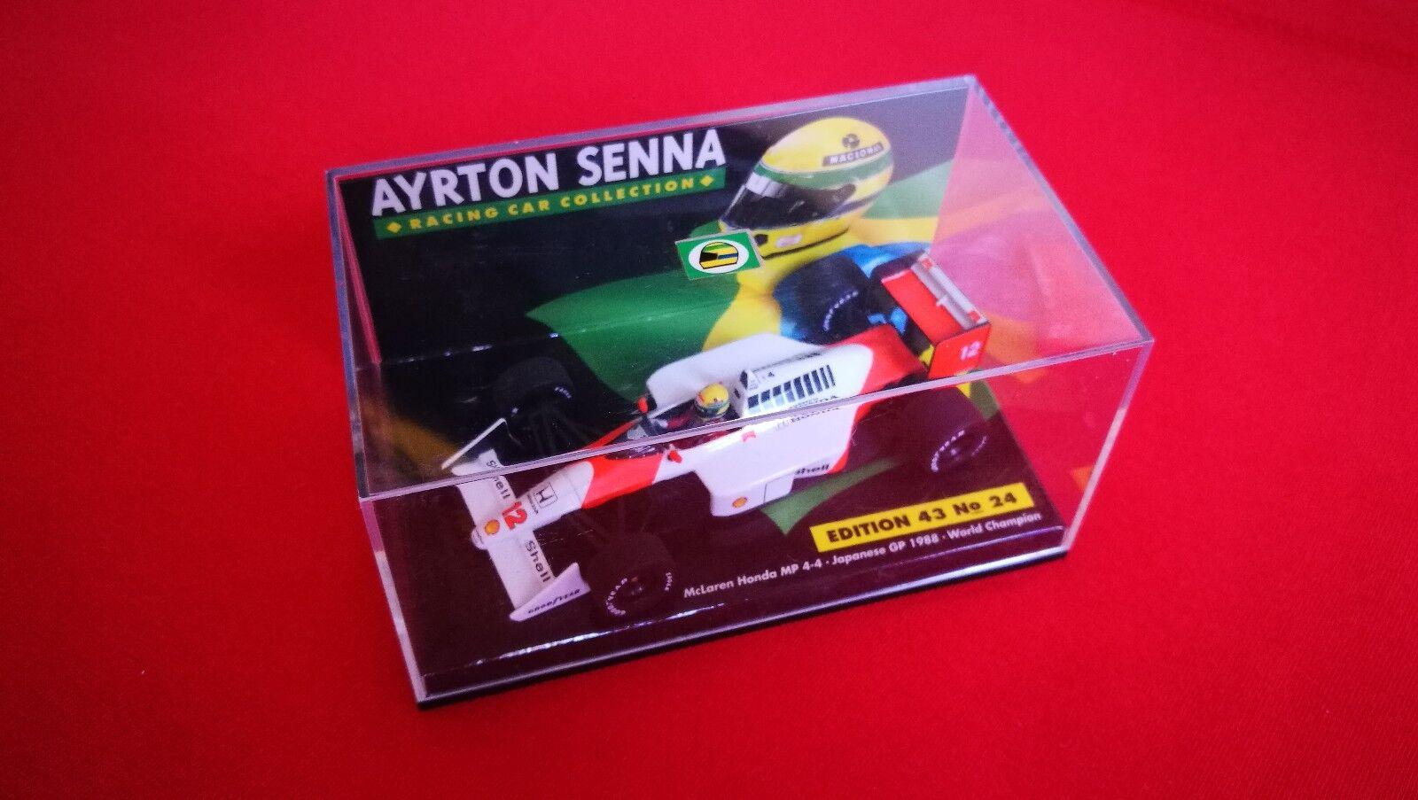 Mclaren Honda MP4 MP4 MP4 4 Ayrton Senna 1988 1 43 071210