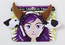COW ANIMAL EARS HEADBAND HALLOWEEN COSTUME ACCESSORY