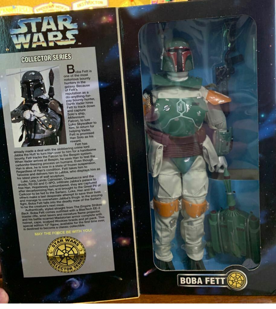 Boba Fett 12in Wirkung Figure