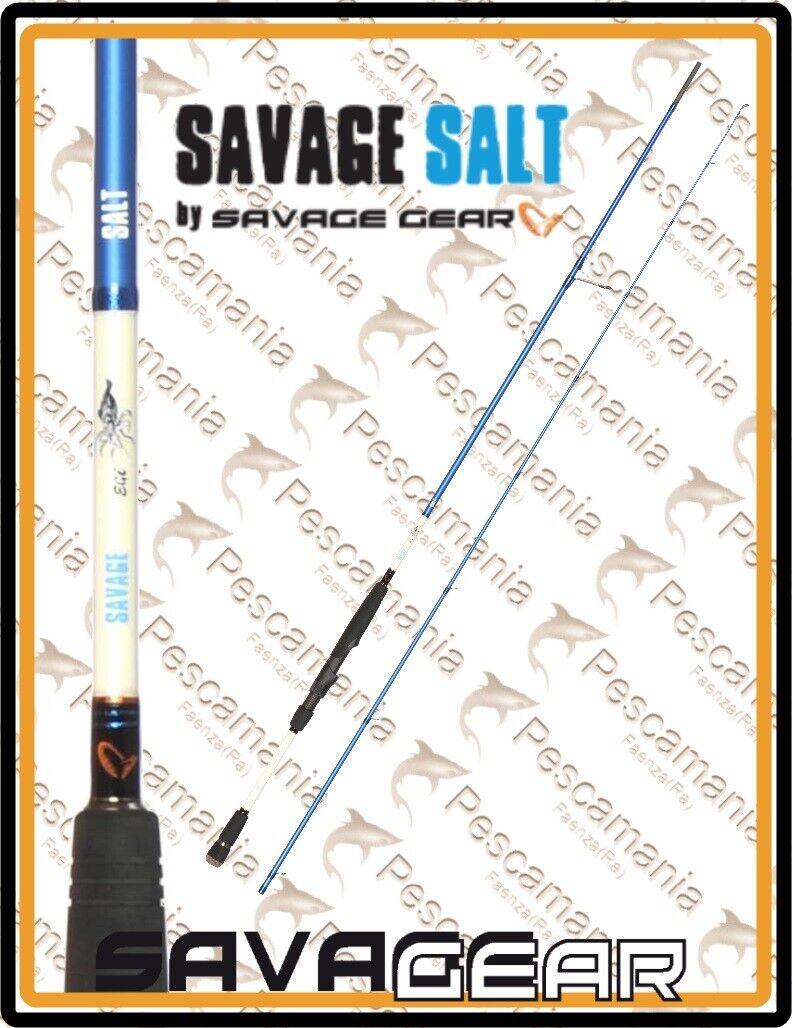 Caña Savage Gear Salt Egi  8'2  -8 ' 4  Calamar Sepia  sorteos de estadio