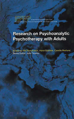 1 of 1 - Research on Psychoanalytic Psychotherapy with Adults (EFPP Series-ExLibrary