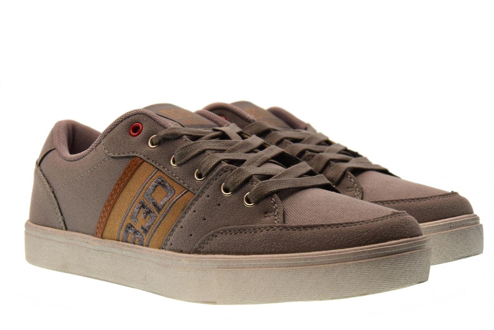 B3D Shoes Schuhe Männer niedrige Turnschuhe 40182 GRAU P18g