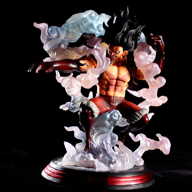 28cm Pop One Piece Sa Maximum Monkey D Luffy Gear 4 Snakeman Figure Pvc 10in