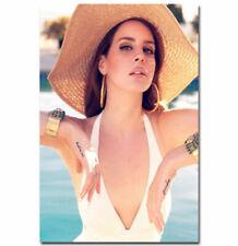 N-411 Lana Del Rey Music Star Fabric Cloth Hot Wall Poster Art 20x30 24x36IN