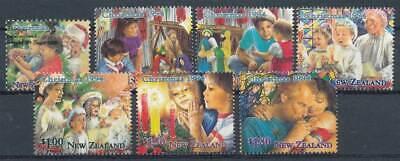 Motive Briefmarken Neuseeland Nr.1376-1382** Weihnachten Fest In Der Struktur Intellektuell 269930