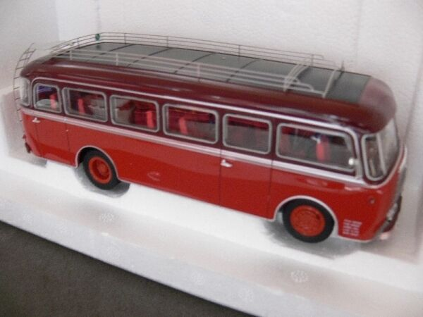 1 43 NOREV Panhard Bus K 173 1949 Rosso Rosso Scuro 521200