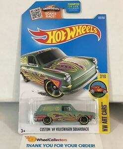 "2018 Hot Wheels Kmart ONLY Custom '69 Volkswagen Squareback ""LOOSE"""
