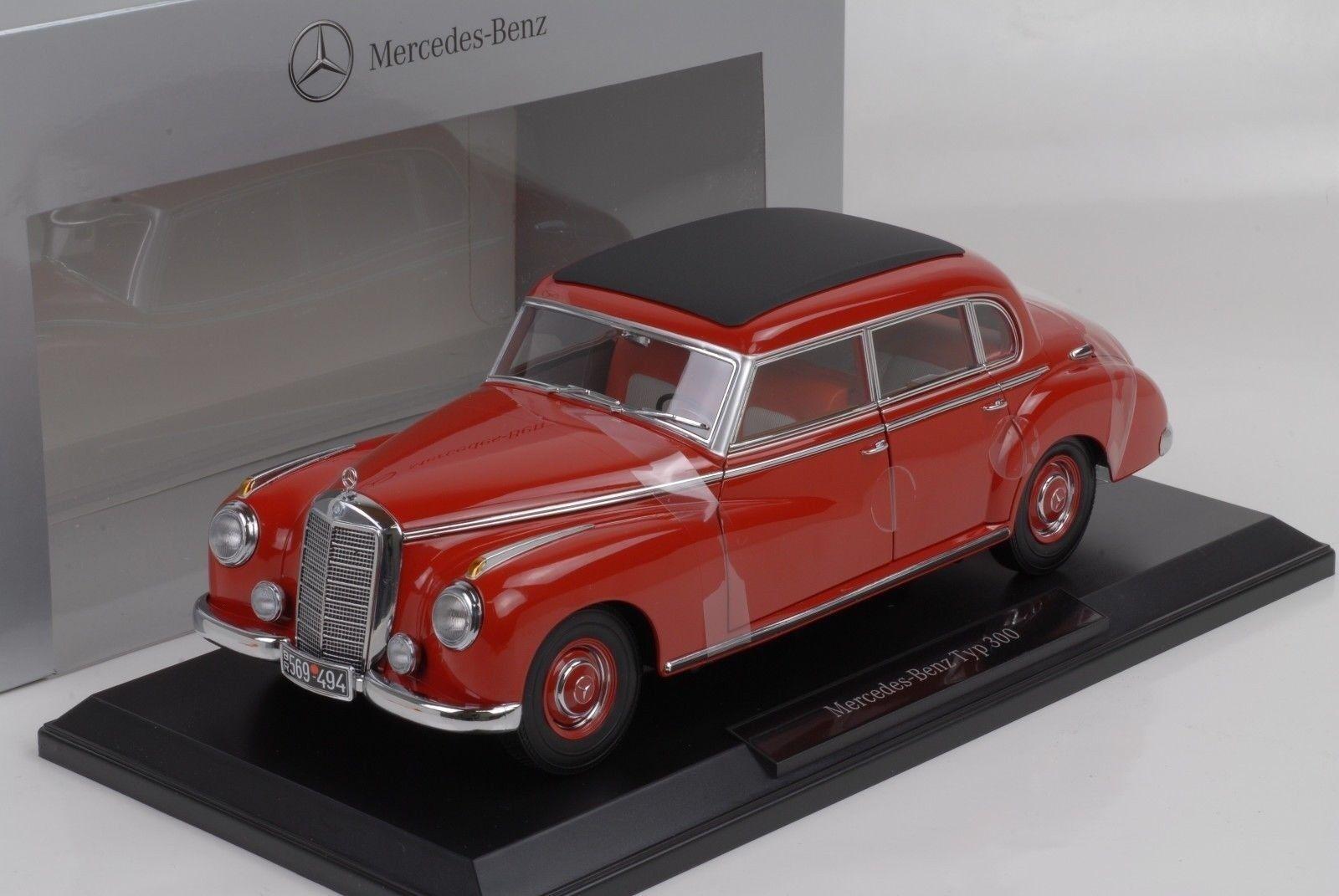 NOREVB66040615  - Voiture berline de luxe MERCEDES 300 Adenauer limousine W186 c