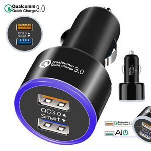 Dual-QC-3-0-USB-2-Port-6-2A-Quick-Charge-Car-Charger-For-Samsung-Huawei-iPhone