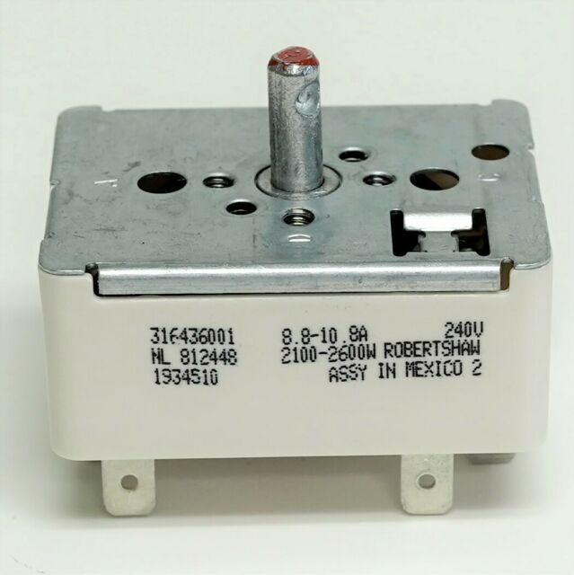 318120500 Infinite Switch Electrolux Kenmore Frigidaire