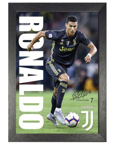 55 Ronaldo Juventus Football Player Poster Sport Foto Bild Unterzeichnet Zitat