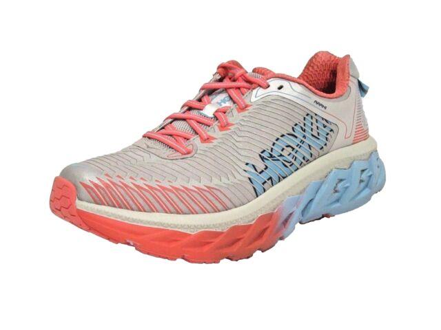 1a3cfadf34ae9 HOKA ONE ONE Arahi Running Shoe - Micro Chip/Dubarry - Womens