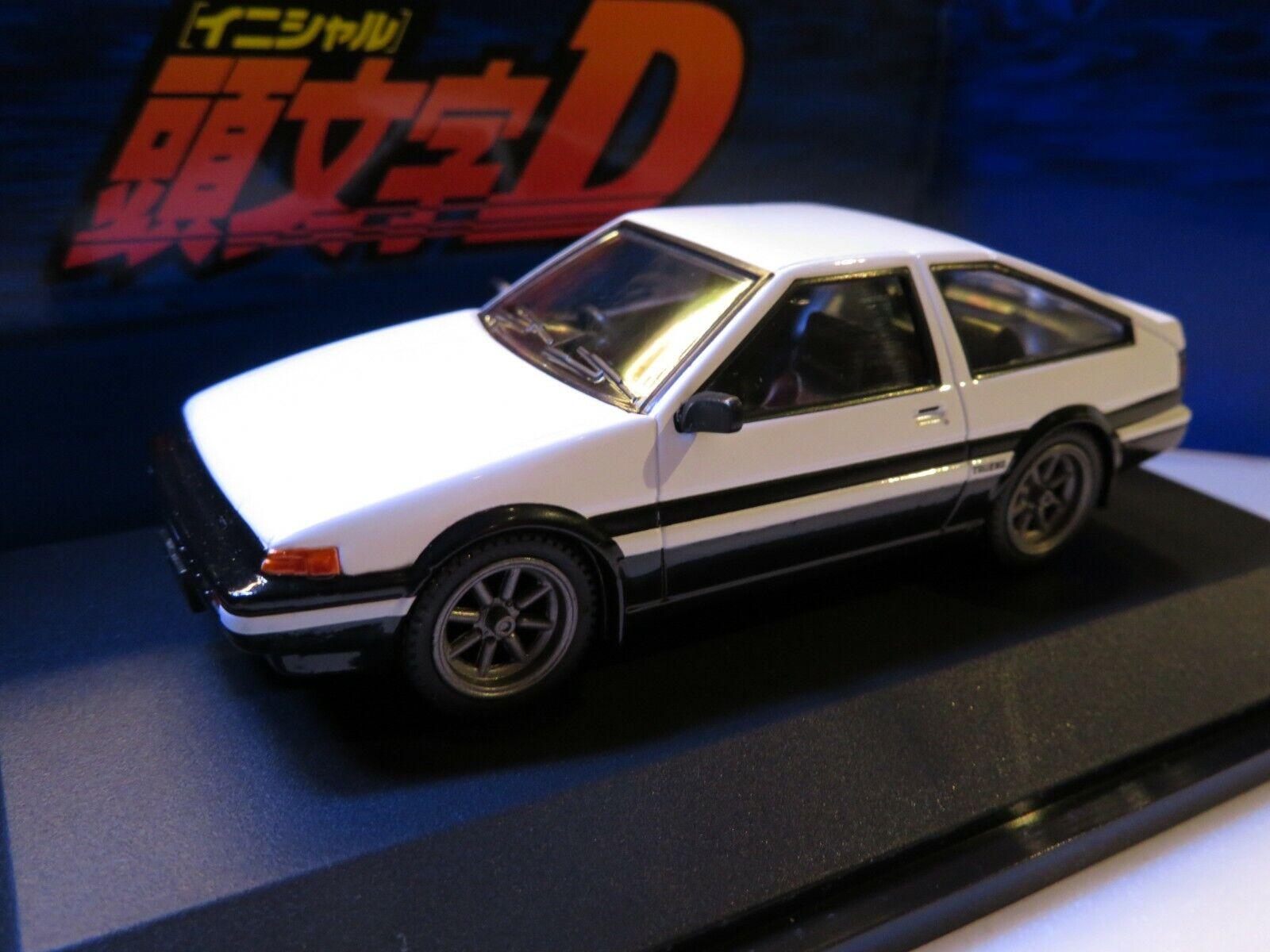 1 43 Fujimi initial D Toyota AE86 TOYOTA Takumi Fujiwara projet d Diecast