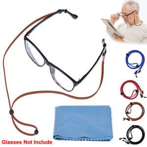 38b01bac86c6 4Pcs Glasses Strap Neck Cord Sports Eyeglasses U Sunglasses Rope ...