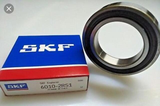 40 x 80 x 18-2 Rubber seals SKF 6208-2RS 1 SKF Deep Grove Ball Bearings