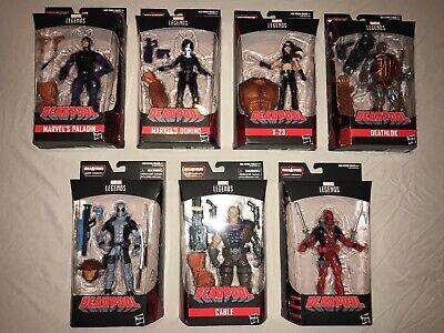 "Marvel Legends Cable 7/"" Figurine Deadpool X-Force SASQUATCH 6/"" série avec BAF PIECE"