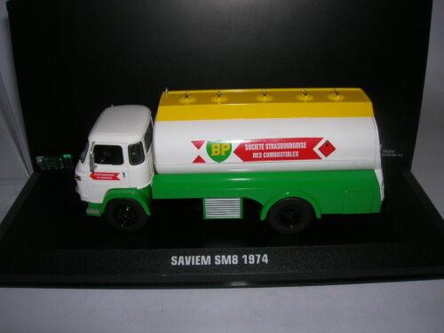 1:43 Artikel 016 Ixo Saviem SM8 SM 8 BP Baujahr 1974 Tankwagen LKW Transporter
