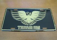 Pontiac Trans Am Metal License Plate